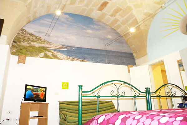 Double room with tv and air conditioning 'Apartment San Giusto